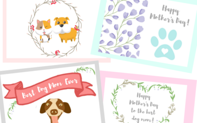Printable Mother's Day Cards for Dog Moms