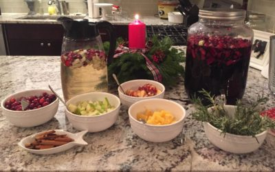 For Dog Moms: Easy Holiday Sangria Bar