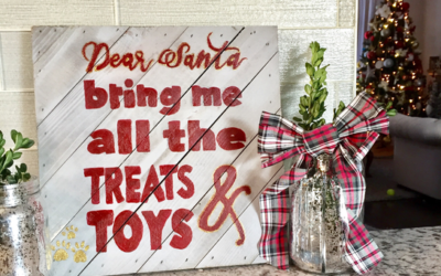 Dear Santa Sign DIY + FREE Printable