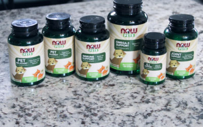 Why I Love NOW® Pets Supplements + Win a Prize Pack of Supplements #NOWpetsSweeps