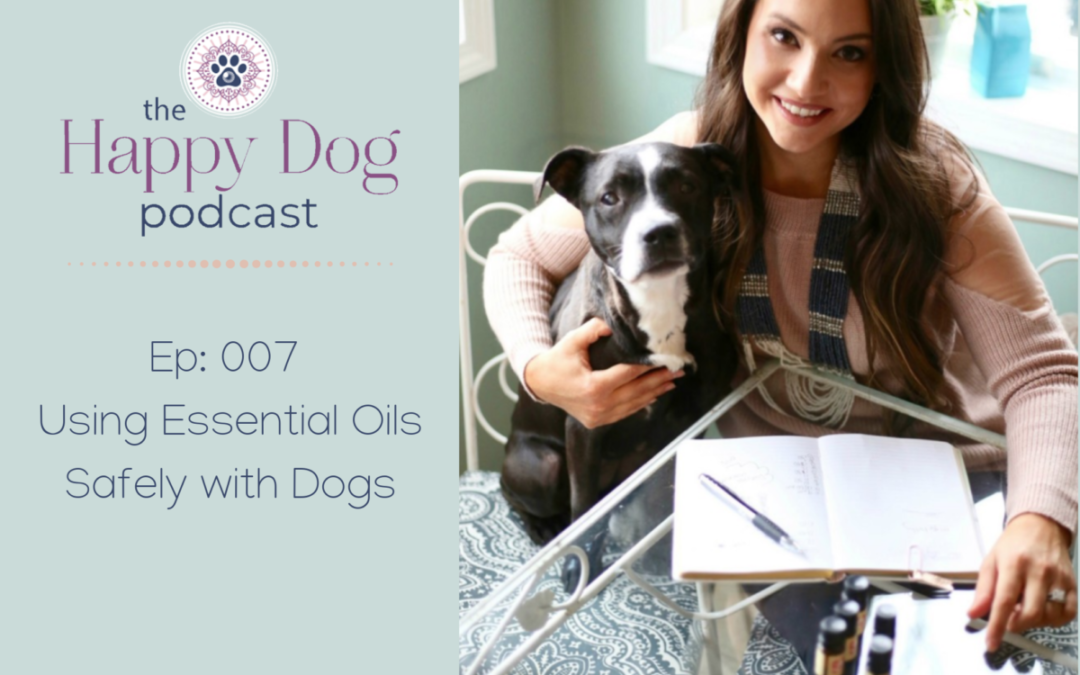 Ep 007: Using Essential Oils Safely with Dogs