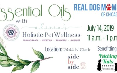 Essential Oils for Dogs Workshop July 14, 2019, Side by Side Chicago